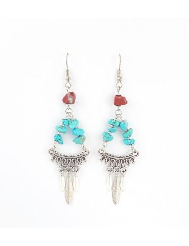 Boucles d'oreilles Maya