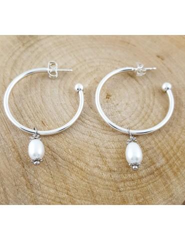 Boucles d'oreilles Perla...