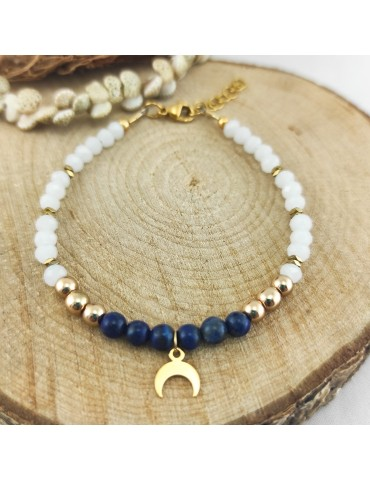 Bracelet Luna Lapis Lazuli