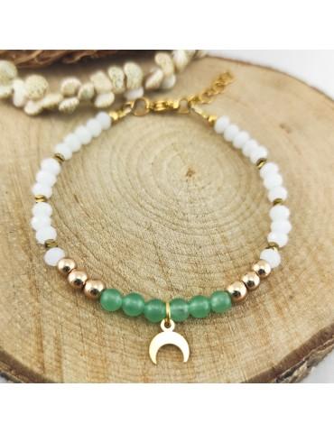 Bracelet Luna Aventurine