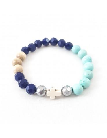 Bracelet Mandy bleu