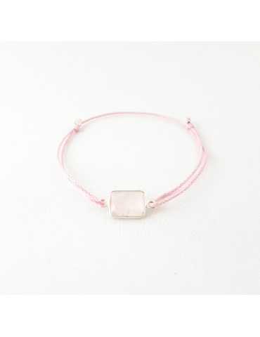 Bracelet Precious Quartz rose